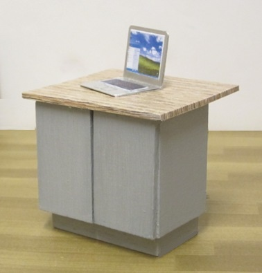 *LAST TWO* 1:24th scale COMPACT KITCHEN ISLAND K...