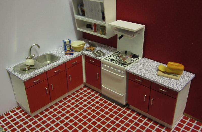 1-CLICK 1950s/60s KITCHEN KIT