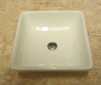 Playscale (1:6) square vanity bowl