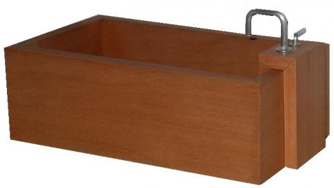 *SALE - LAST TWO* Japanese-style wooden bathtub