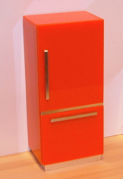 *LAST ONE* ELF fridge, orange