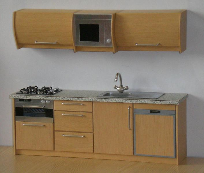 Complete Compact Kitchen Unit: Unusual Projects