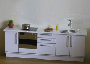 *ONE-OFF* COMPACT KIT WITH ROUND SINK (OPENING)
