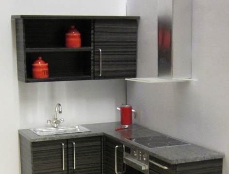 1-CLICK KIT - Wall units with shelf