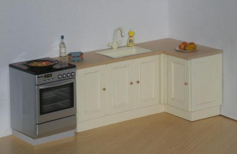 *LOWER PRICE* Cream classic kitchen