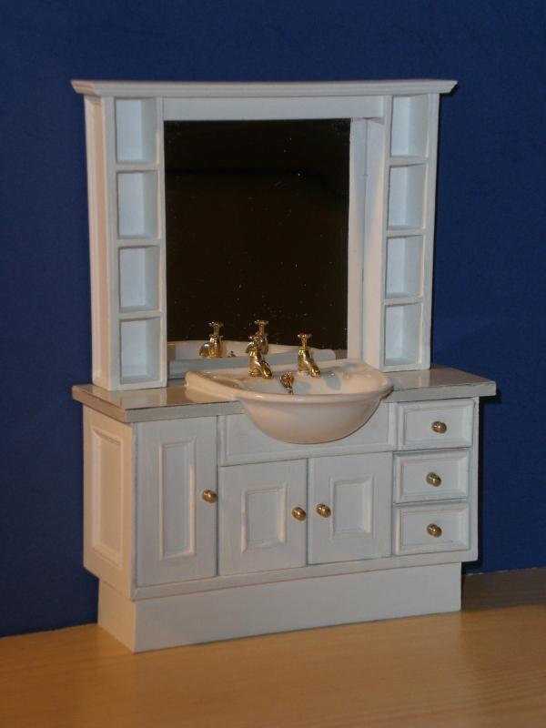 ELF tall classic vanity unit