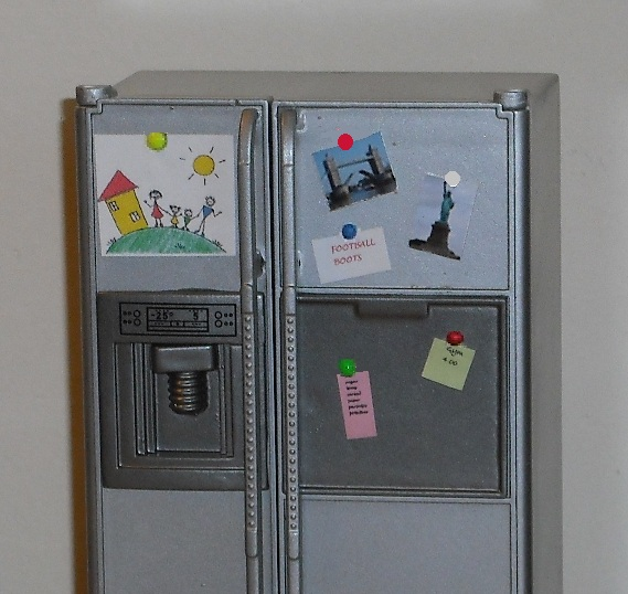 Fridge decoration set