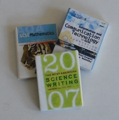 Set of 3 GCSE science books