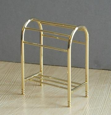 *LOWER PRICE* Gold-plated towel rail