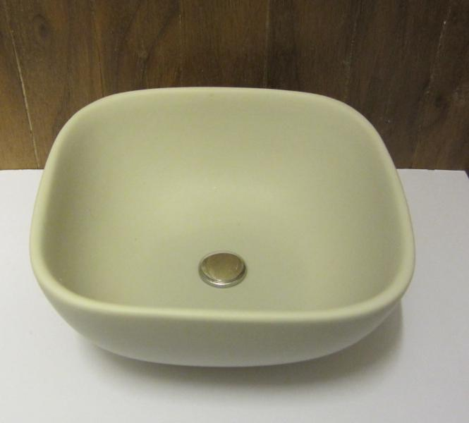 Playscale (1:6) vanity bowl - pale grey