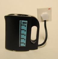 Jug kettle - black