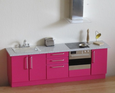 Compact kitchen - your colour choice