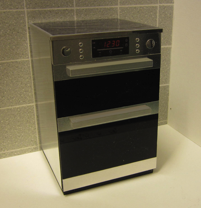 Playscale (1:6) Modern frees-standing oven