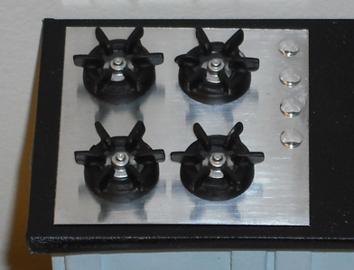 Gas hob (stove top) kit
