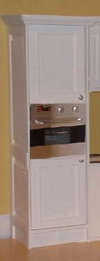 1:6 column oven unit - panelled