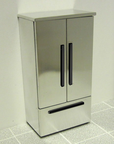 Playscale (1:6) Dummy Fridge freezer kit