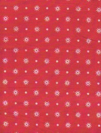 1:16 ELF Duvet set, single or double - red starb...