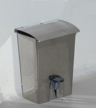 *LAST FEW* Stainless steel pedal bin