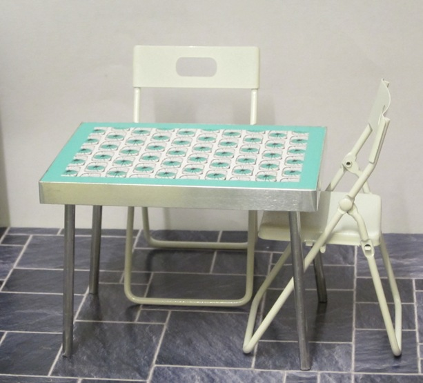 Retro kitchen  table - choice of tops