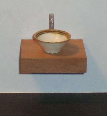Deep shelf with bowl by Carol Mann