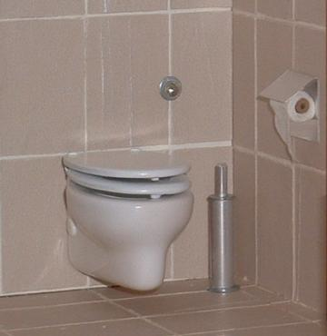 Wall Mounted Modern Porcelain Toilet