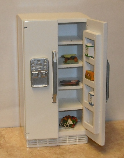 *SALE* Compact American style fridge - white