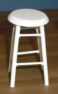*SALE* White bar stool