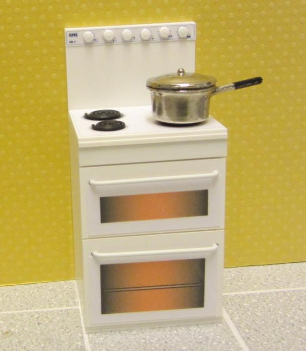 1970s/80s oven with radiant ring hob