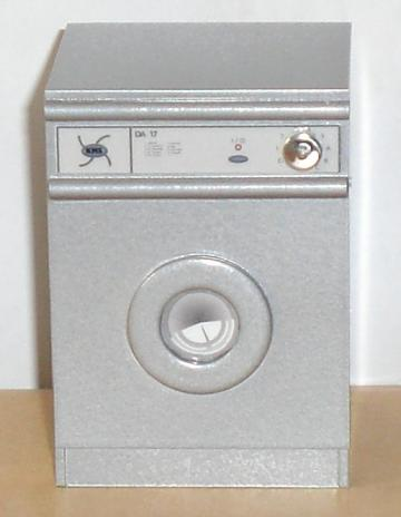 Washing machine - silver