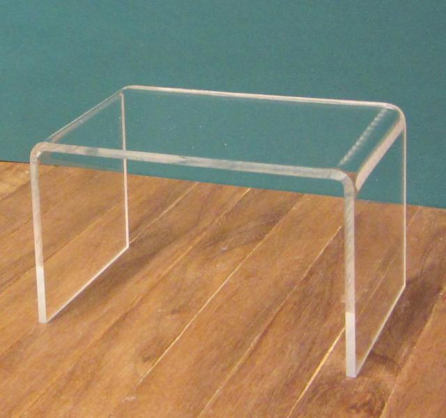 Clear Acrylic console table/desk