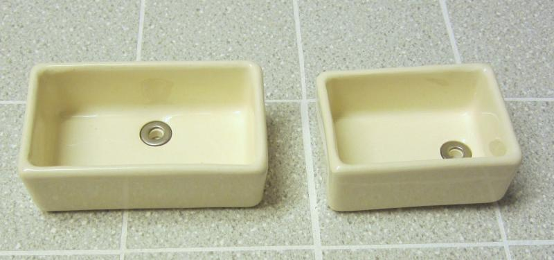 Modern china Belfast (Butler's) sink - 2 sizes