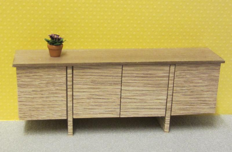 Limited edition Bridge sideboard in cinnamon oak