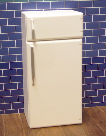 Fridge/freezer - white