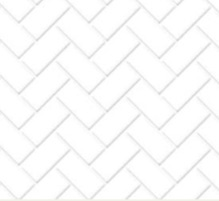Herringbone metro tiles