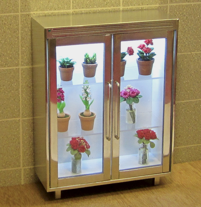 FLORIST'S DISPLAY CABINET