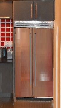 EAZY integrated American fridge unit