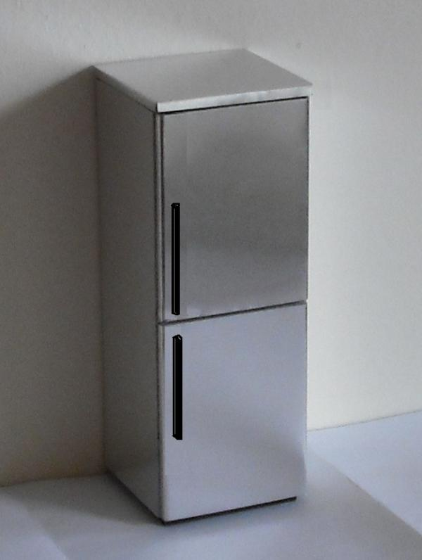 Dummy steel fridge freezer - kit