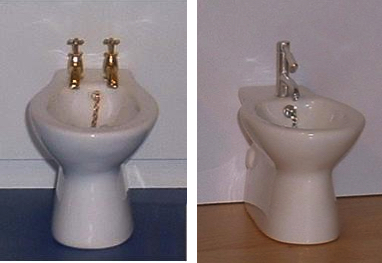 *SALE - LAST ONES* Modern flush-sided bidet