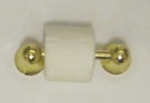 *SALE* Loo roll holder, gold