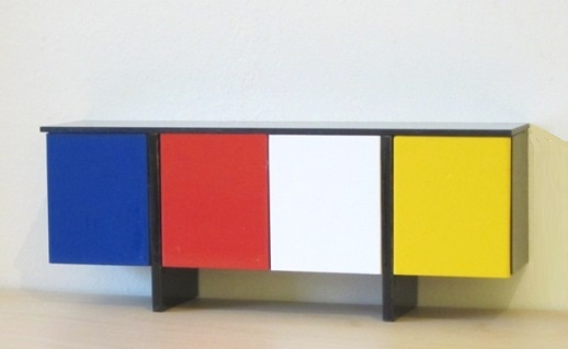 Mondrian sideboard - KIT OR READY-BUILT