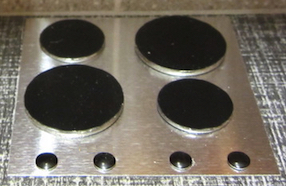 Solid plate hob/stove top kit