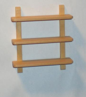 Open kitchen wall shelf unit - medium