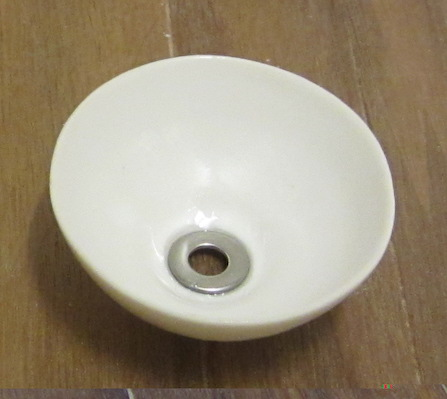 White china vanity bowl