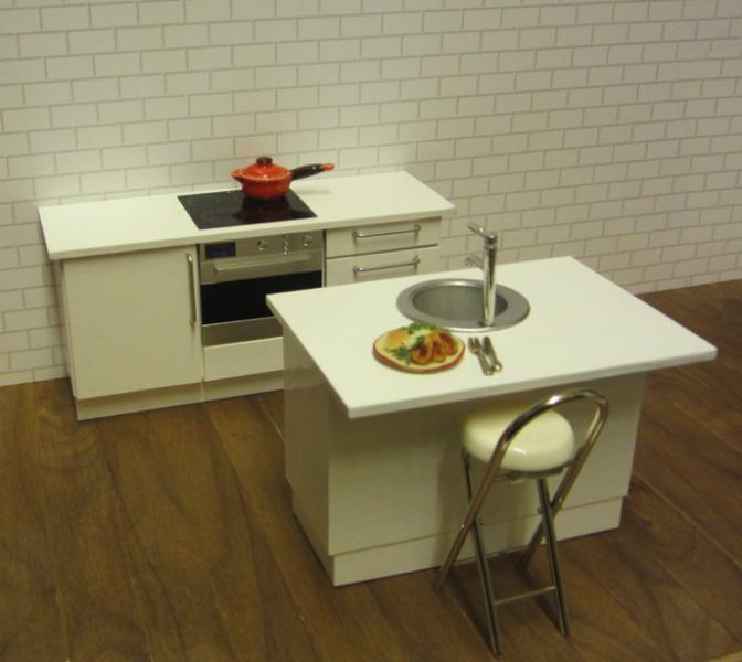 ONE-OFF  kitchen - white